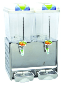 Juice dispenser 18L 2 bowls