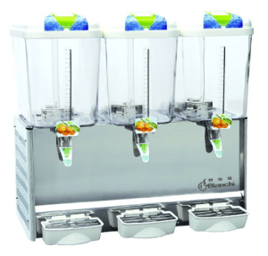 Juice dispenser 18L 3 bowls